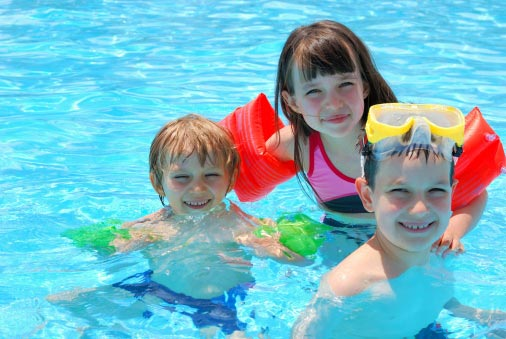 Actividades con niños en verano